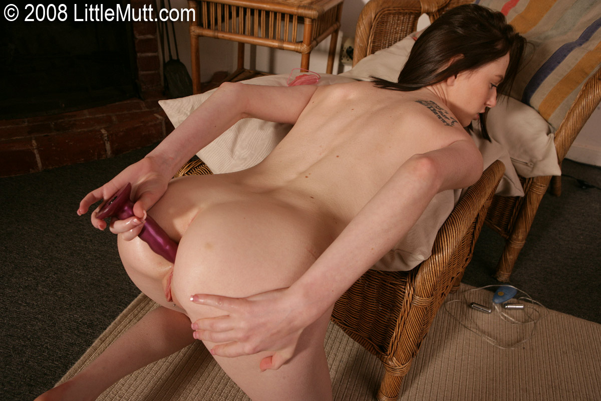 Femjoy nude on all fours